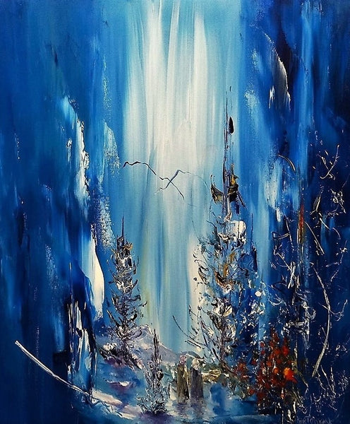 Nature's Blue Monday (50x60cm)