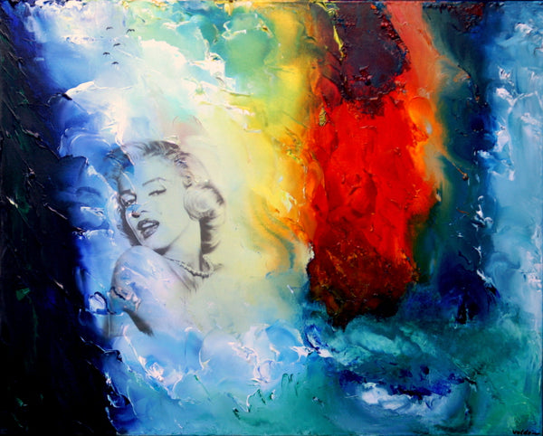 Around the falls - Marilyn Monroe (100x80cm)