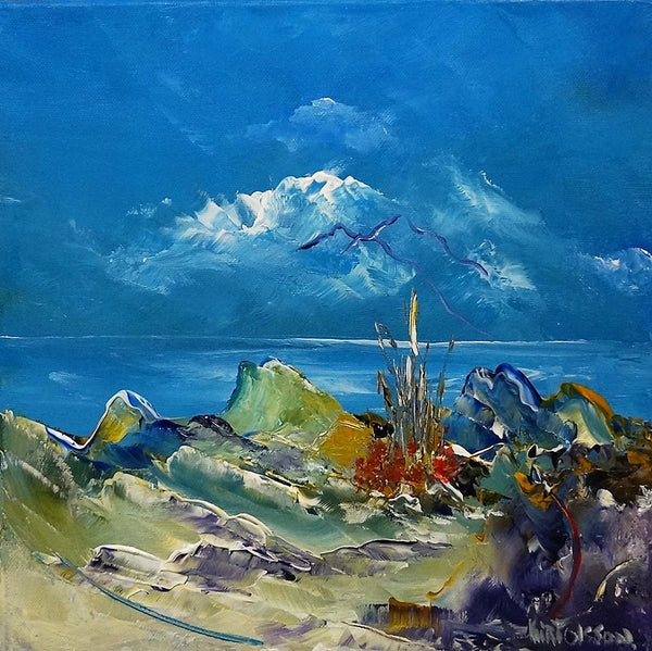View to the west (30x30cm)
