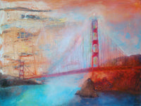 Golden Gate Bridge ( 80x60 cm )