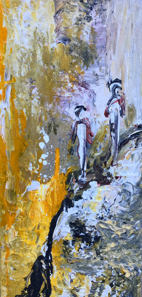 Mountain Walking ( 20x40 cm )