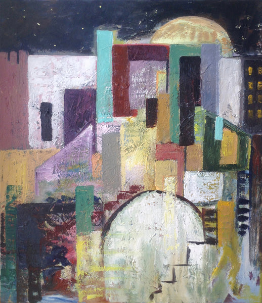 Jerusalem by night ( 80x90 cm )