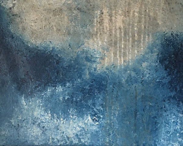 Rain by the sea (80x60cm)