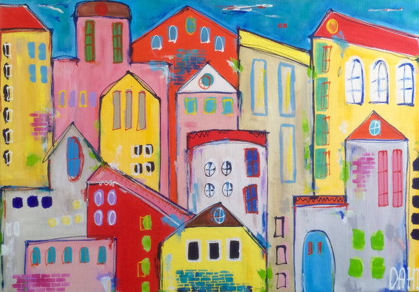 Color my home ( 100x70 cm )