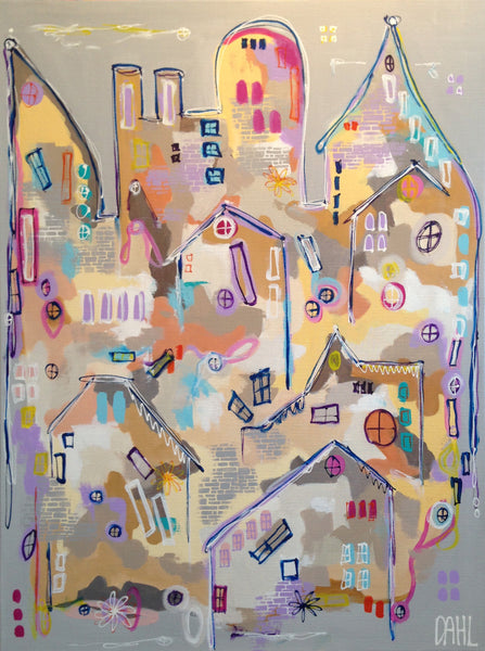 Light up my home ( 90x120 cm )