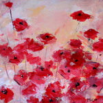 Red Poppies ( 30x30 cm )
