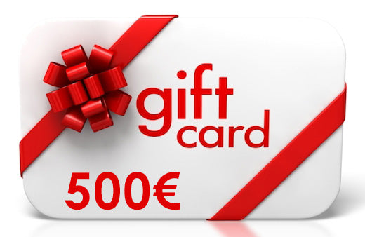 500 Euro Gift Card