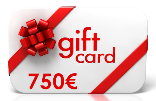 750 Euro Gift Card