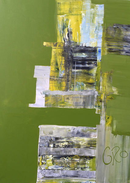 Hope is green ( 90x120 cm )