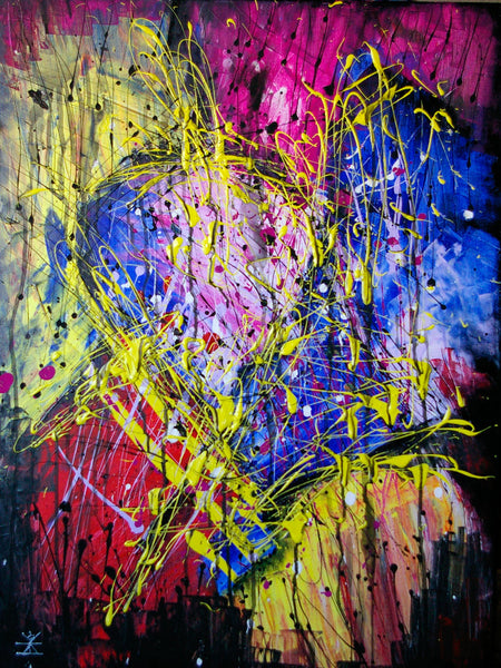 Emotions of two people in love ( 60x80 cm )
