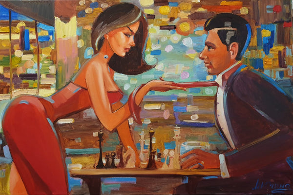 Game Night I (90x60cm)