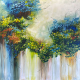 Royal Blue (100x100cm)