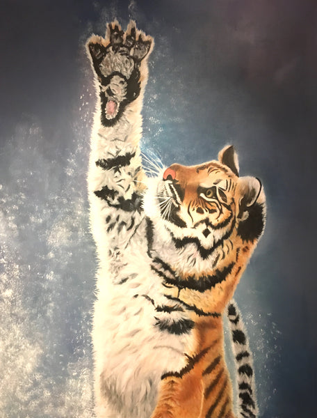 The Tiger (80x100cm)