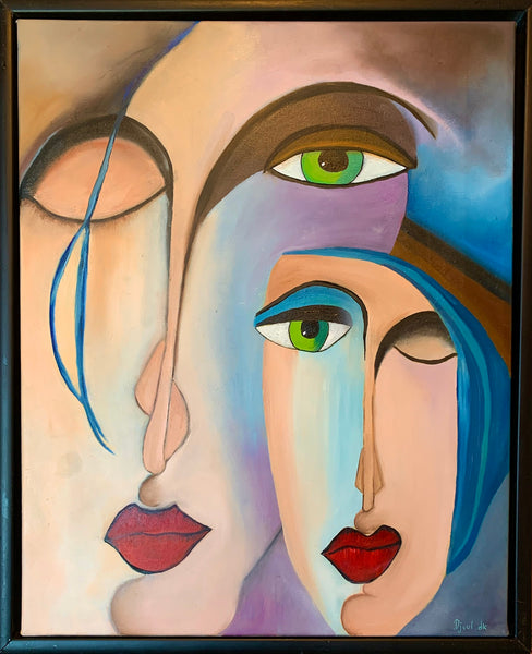 Beautiful Women (40x50cm)