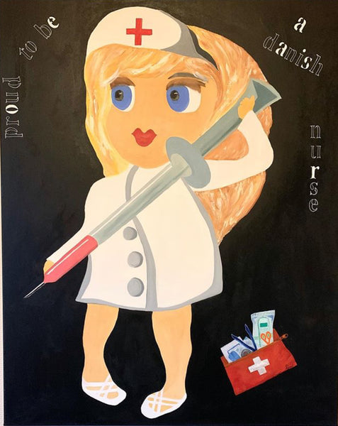 The Danish Nurse (80x100cm)