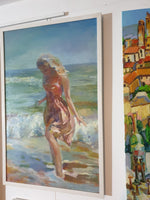Girl by the sea (50x80cm)