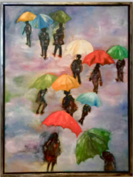 A rainy day in Denmark (60x80cm)