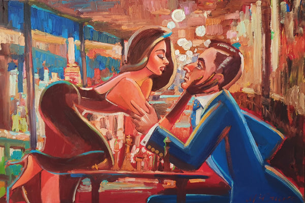 Game Night II (90x60cm)