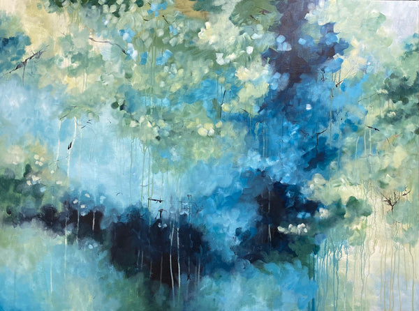 Light in the forest (120x90cm)