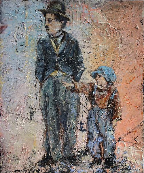 Foster child ( 50x60 cm )