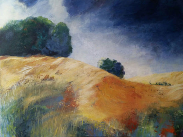 A summer day ( 80x60 cm )