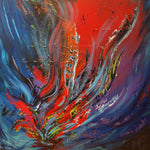 Abstract spartel 12 (100x100cm)