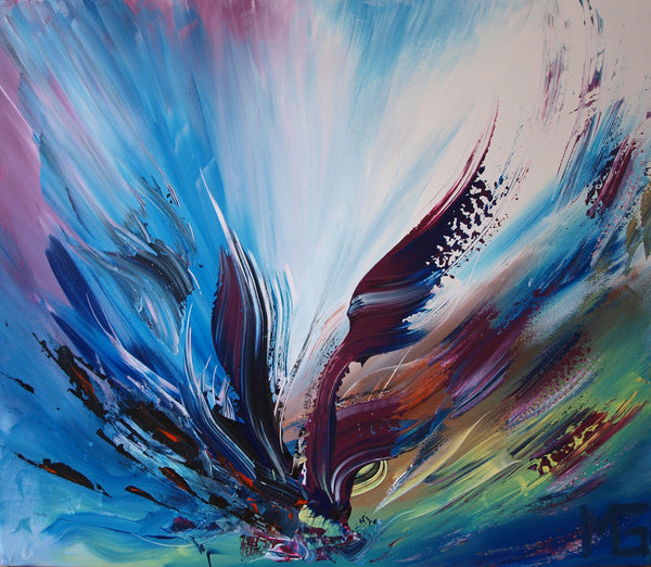 Abstract spartel 16 ( 70x60 cm )