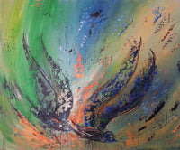 Abstract spartel 19 (120x100cm)