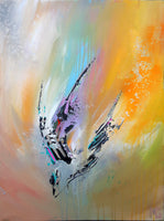 Abstract spartel 29 ( 60x80 cm )