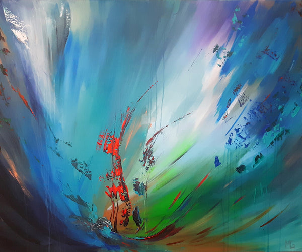 Abstract spartel 32 ( 120x100 cm )
