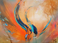 Abstract spartel 39 ( 80x60 cm )