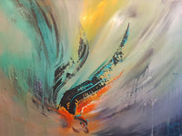 Abstract spartel 43 ( 80x60 cm )