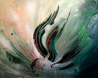 Abstract spartel 46 (100x80cm)