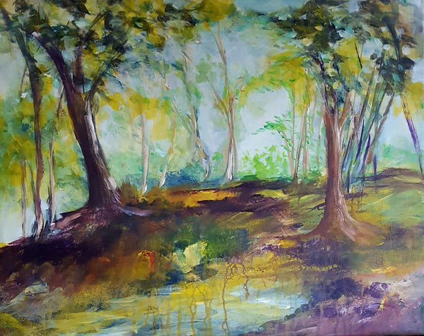 Brown forest floor ( 50x40 cm )