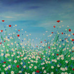 Wild Flower Meadow ( 80x80 cm )