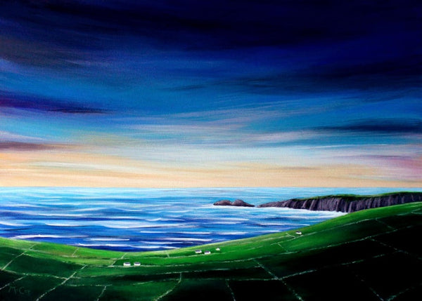 Wild Atlantic Way Sunset ( 70x50 cm )