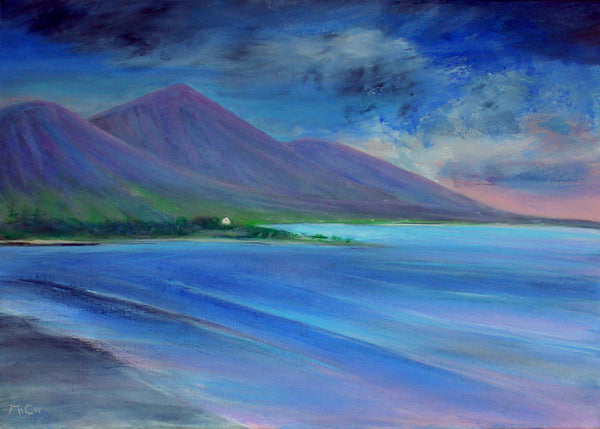 Evening Colours, Clew Bay, Connemara ( 70x50 cm )
