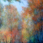 Changing Colours of Autumn ( 70x70 cm )