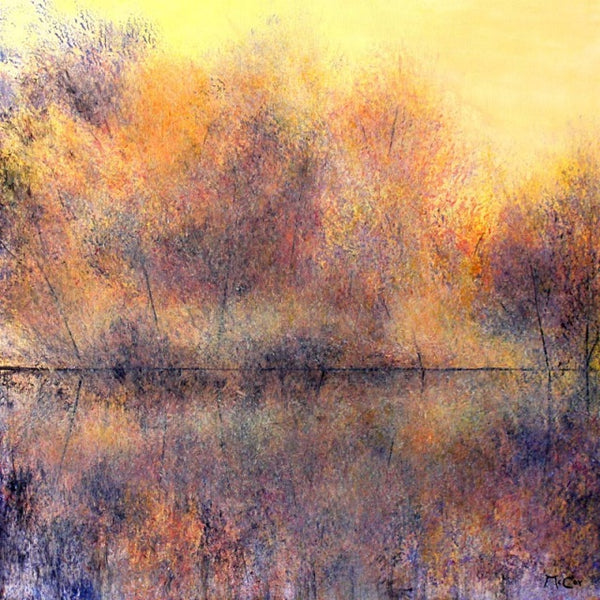 Autumn Reflections ( 60x60 cm )