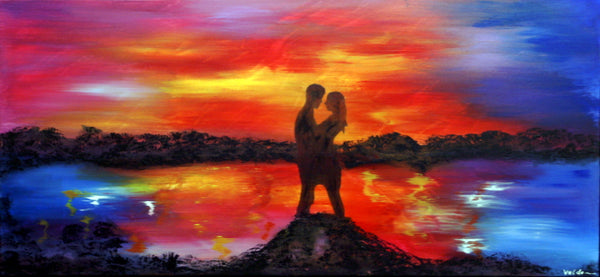 True love ( 130x60 cm )