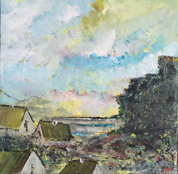 Landscape composition no. 2193 ( 50x50 cm )