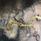 Gold is for winners (100x100cm)