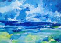 Summer sea (70x50cm)