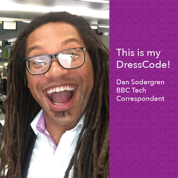 This is my DressCode - Dan Sodergren, BBC Tech Correspondent