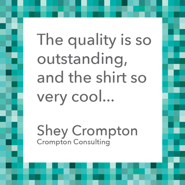The quality is outstanding - Shey Crompton