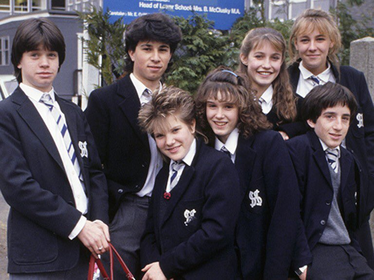 Grange Hill uniforms