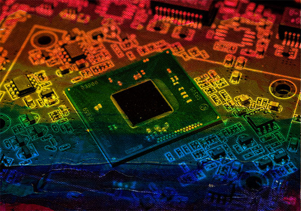 Microchips colours