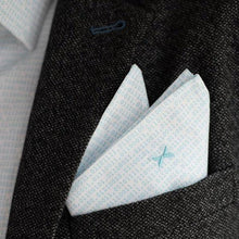 DressCode Binary code pocket square
