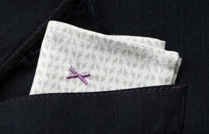 DressCode Cursor pocket square for jackets