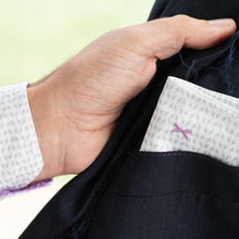 Detail of DressCode Cursor pocket square